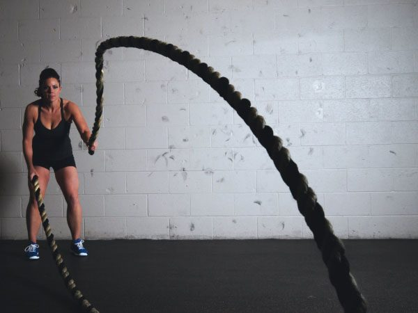 BATTLE ROPE CONTEST